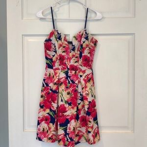 NEW floral dress - size small from Van Maur